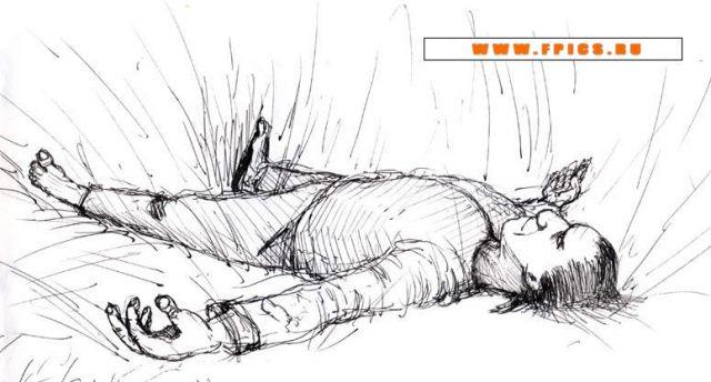 Спящий в траве